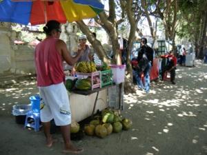 pedagang pantai kuta