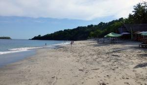 virgin beach / white sand beach