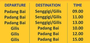 Jadwal Speed boat