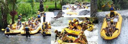 Rafting Talaga Waja River