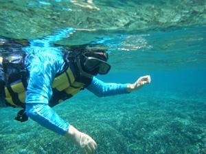 Snorkling di Lembongan
