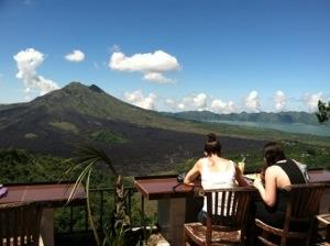 pemandangan gunung Batur dari Kintamani
