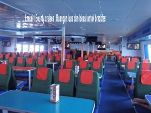 lantai 1 bounty cruises