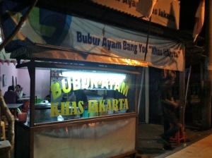 Bubur Ayam , open 24 jam