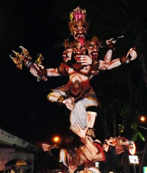 Ogoh ogoh Kuta Bali 2015