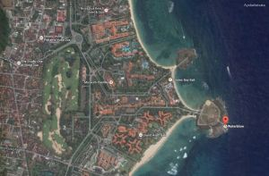 google map waterblow nusa dua