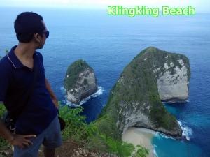klingking beach nusa penida