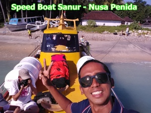 speed boat penida