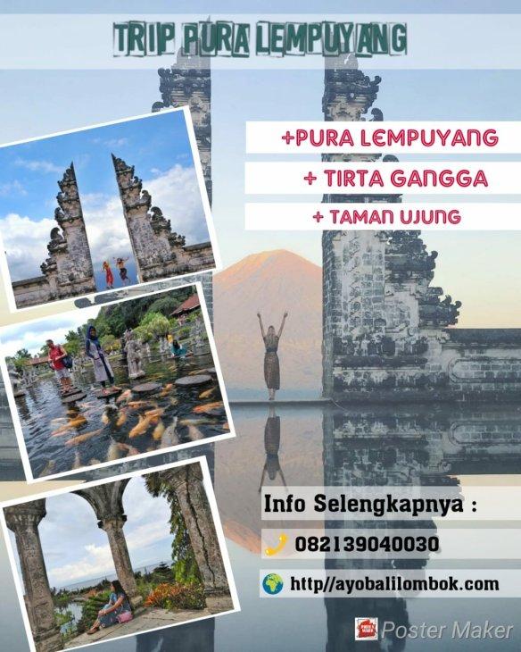 Trip Wisata Pura Lempuyang Ayo Bali Transport